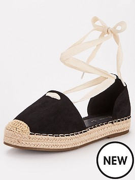 v-by-very-magna-two-part-tie-leg-espadrille-black