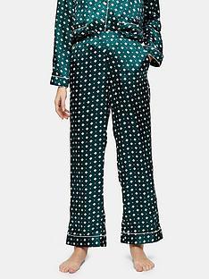 topshop-tile-print-satin-pyjama-trousers-green