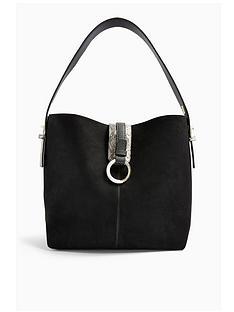 topshop-topshop-soar-ring-hobo-bag-black