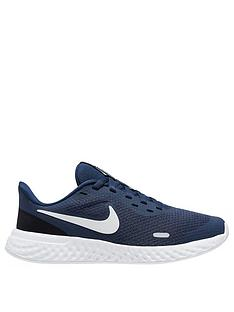 nike-revolution-5-junior-trainers-navywhite