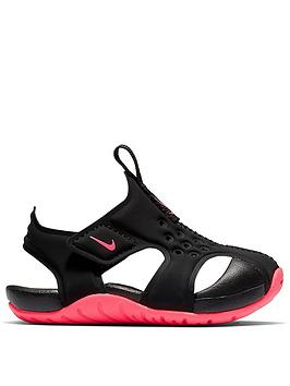 nike-childrensnbspsunray-protect-2-toddlersnbspsandals-blackpink