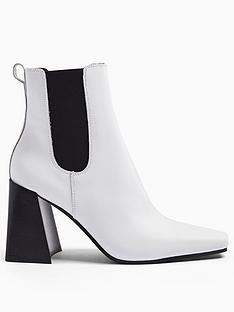 topshop-harbournbspchelsea-boot-white
