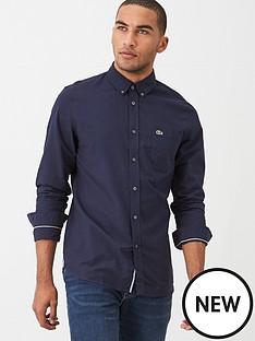 lacoste-sportswear-oxford-shirt-navy