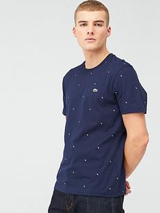 lacoste-sportswear-all-over-mini-print-t-shirt-navy