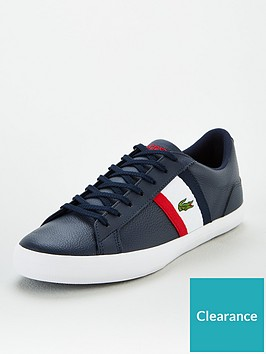 lacoste-lerond-side-stripe-leather-trainers-navy