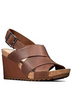 clarks-flex-sand-leather-wedge-sandal-tan