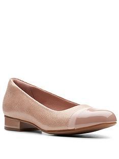 clarks-juliet-monte-ballerina-beigenbsp