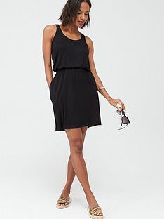v-by-very-jersey-mini-dress-black