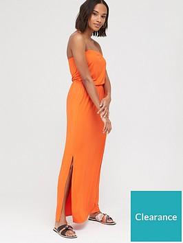 v-by-very-bardot-jersey-maxi-dress-orange