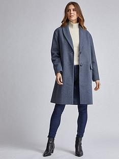 dorothy-perkins-shawl-coat-blue