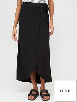 v-by-very-petite-wrap-jersey-maxi-skirt