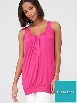 v-by-very-petite-scoop-neck-bubble-hem-vest-top-pink