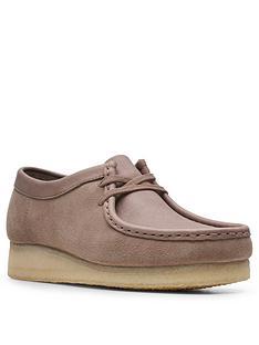 clarks-originals-wallabee-leather-flat-lace-up-shoe-mushroom
