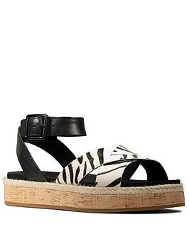 clarks-botanic-poppy-leather-chunky-flat-sandal-animal-print