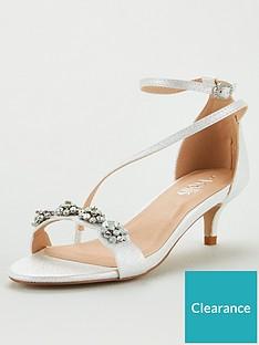 wallis-kitten-heel-embellished-sandals-white