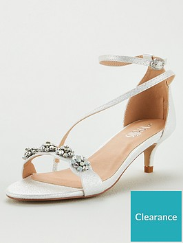 wallis-kitten-heel-embellished-sandals-white