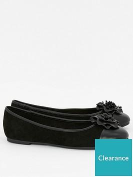 evans-wide-fit-rosebud2-flower-ballet-black