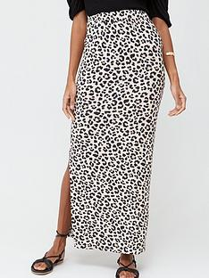v-by-very-tall-split-side-jersey-maxi-skirt-leopard-print