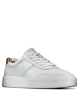 clarks-hero-walk-leather-trainer-white