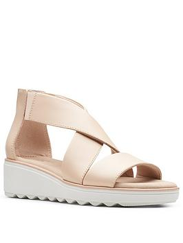 clarks-jillian-rise-low-leather-wedge-sandal-blush