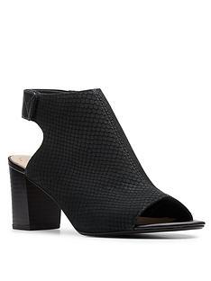 clarks-deva-bell-leather-peep-toe-sandal-black