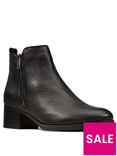 clarks-mila-sky-leather-block-heel-ankle-boot-black
