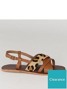 warehouse-multi-strap-sandal-animal