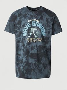 v-by-very-legendary-wave-garage-printed-t-shirt-navy