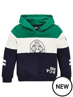 nintendo-boys-mario-panel-hoodie-multi
