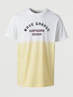 v-by-very-wave-garage-ombre-printed-t-shirt--nbsp-yellow