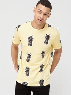 v-by-very-pineapplenbspprint-t-shirt-yellow