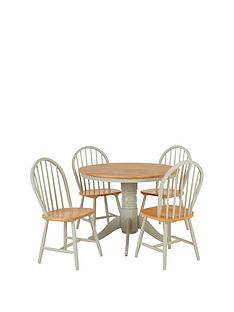 new-kentucky-100-cm-round-dining-table-4-chairs