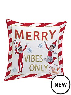 elf-on-the-shelf-merry-vibes-only-christmas-cushion