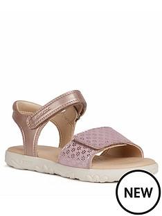 geox-girls-haiti-sandal-rose-gold