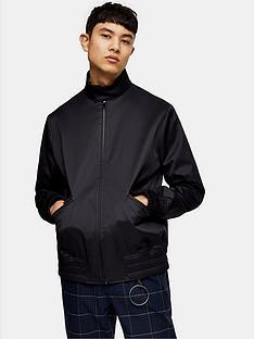 topman-suffolk-harrington-jacket-navy