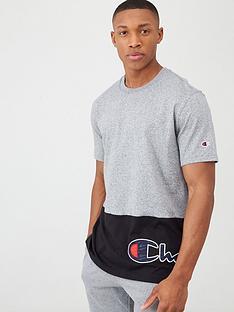 champion-colourblock-crew-neck-t-shirt-greyblack