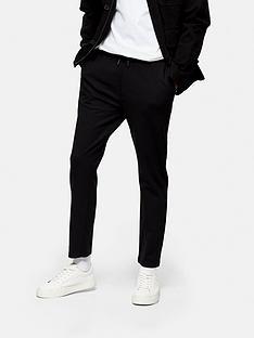 topman-jersey-whyatt-trousers-black