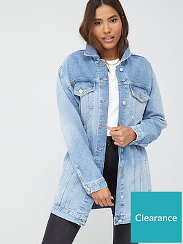v-by-very-longline-denim-jacket-with-buckles-vintage-wash