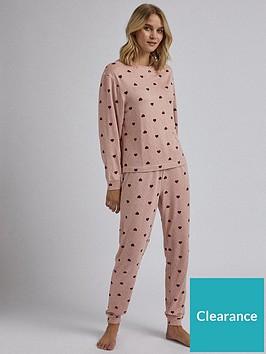dorothy-perkins-dorothy-perkins-pink-heart-twosie-pink
