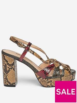 dorothy-perkins-dorothy-perkins-snake-platform-heeled-sandals-brown