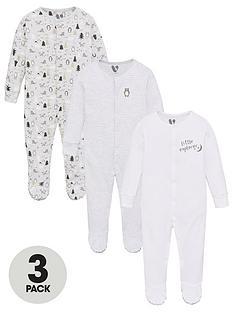 v-by-very-baby-unisex-3-pack-little-explorer-sleepsuits-multi