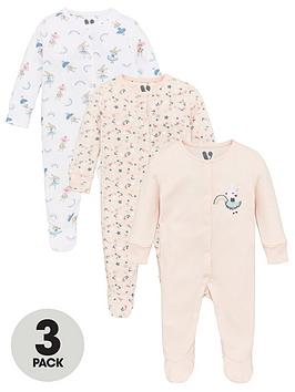 v-by-very-baby-girls-3-pack-sleepsuits-multi