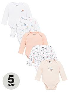 v-by-very-baby-girls-5-pack-bodysuits-multi