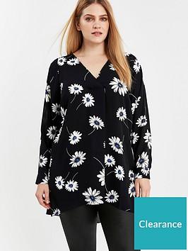 evans-daisy-print-woven-shirt