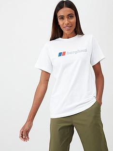 berghaus-logo-tee-white