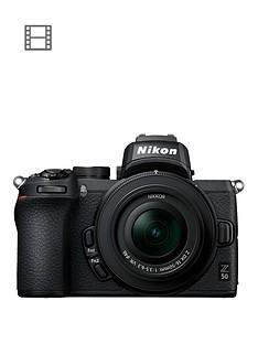 nikon-z-50-mirrorless-cameranbspamp-nikkor-z-dx-16-50mm-f35-63-vr-lens