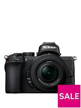 nikon-z-50-camera-amp-nikkor-z-dx-16-50mm-f35-63-vr-lens-ftz-mount-adapter-kit
