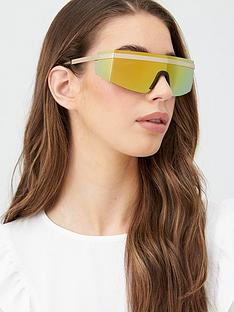 versace-shield-sunglasses-gold