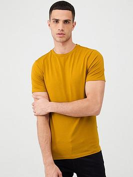 river-island-muscle-fit-short-sleeve-t-shirt-orange