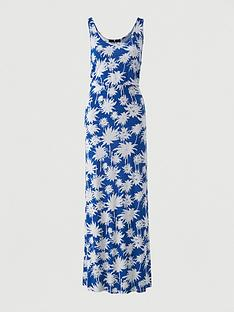 v-by-very-channel-waist-jersey-beach-maxi-dress-blue-print